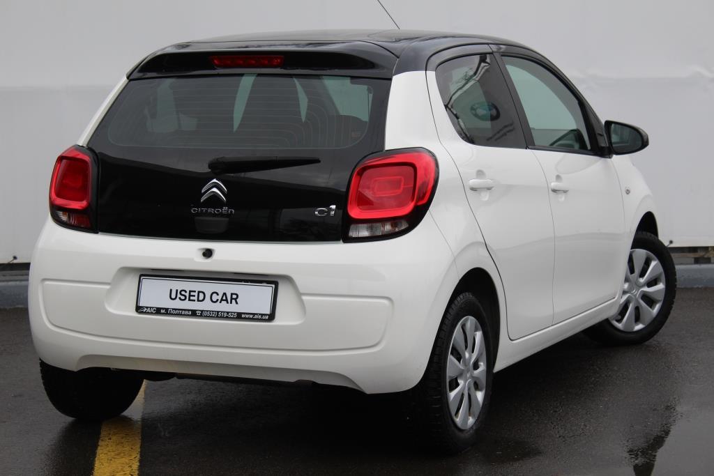 Сертифіковані уживані автомобілі BMW, автомобілі з пробігом в Ukraine | BMW Ukraine | CITROEN C1 C1 WHITE Used Car