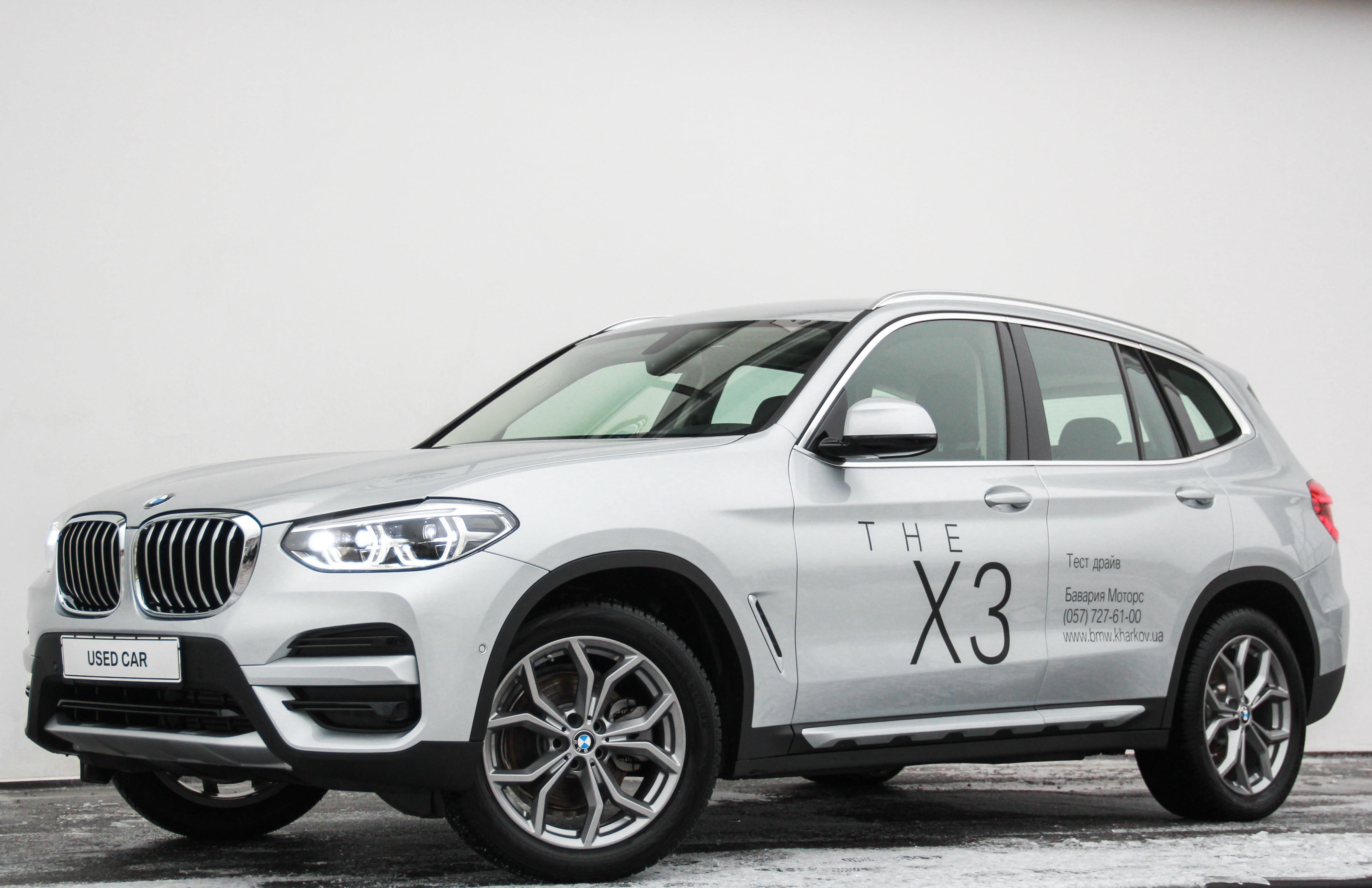 Сертифіковані уживані автомобілі BMW, автомобілі з пробігом в Ukraine | BMW Ukraine | BMW X3 X3 xDrive20d Grey